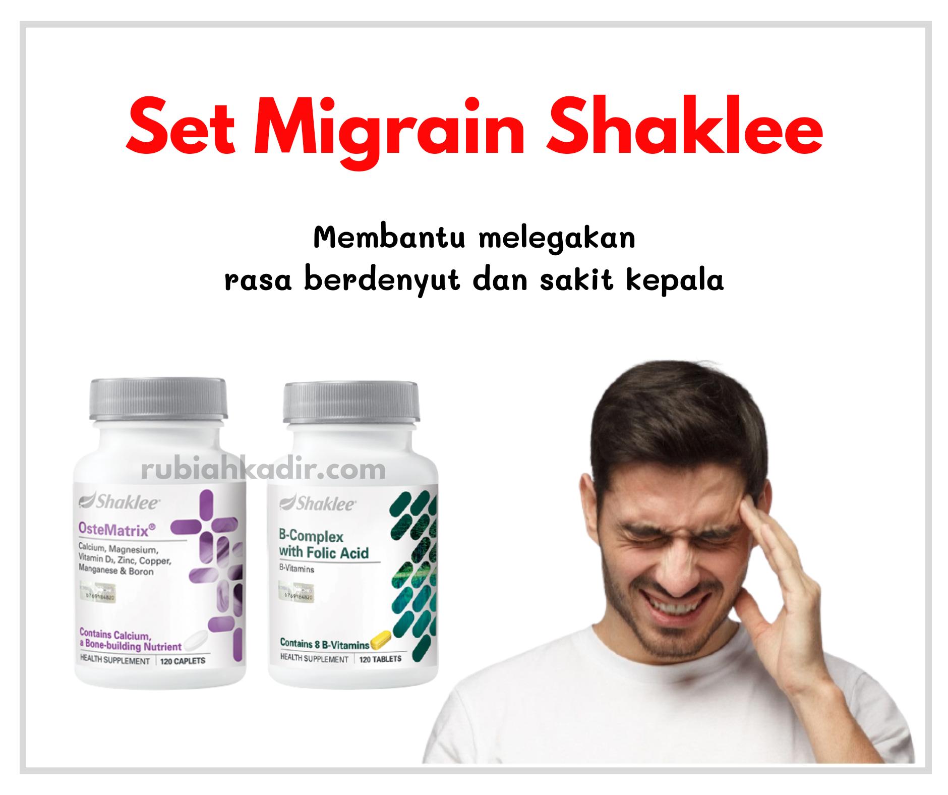 Set Migraine Shaklee