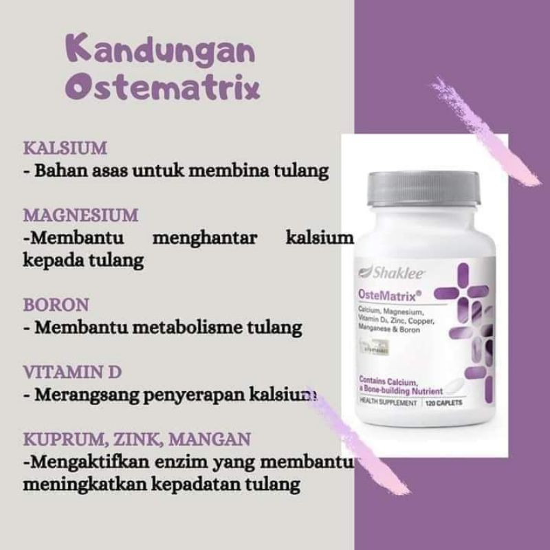 Shaklee OsteoMatrix