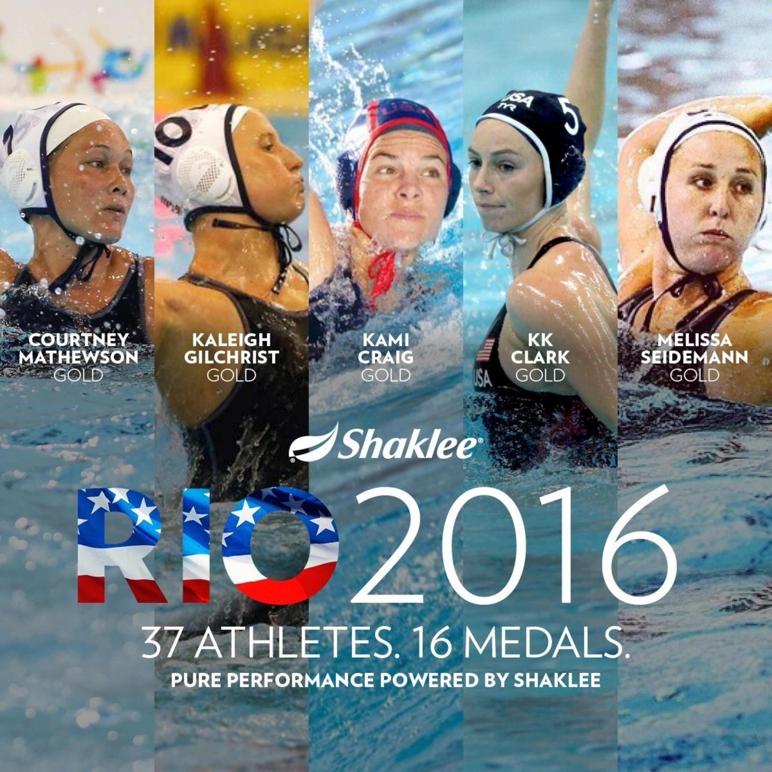 Shaklee Pure Performance Athletes Earn 16 Medals