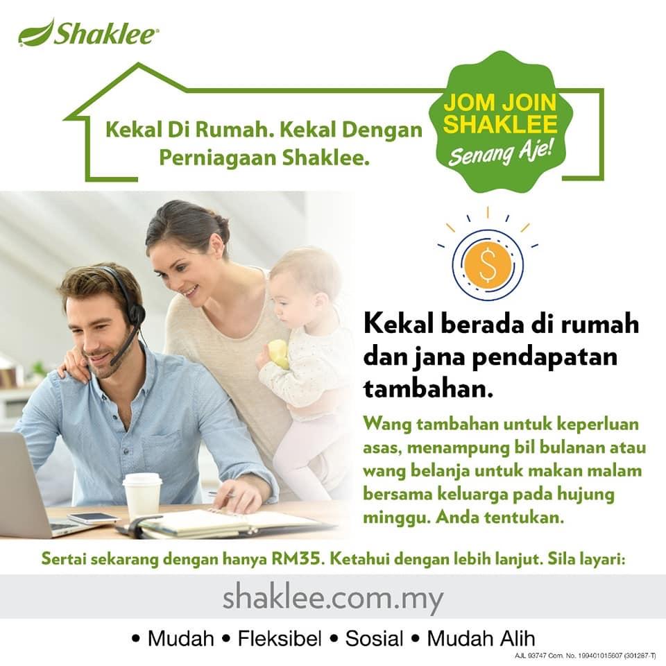 Tips Bina Legasi Shaklee