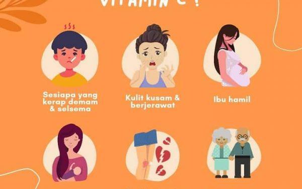 Vitamin C Shaklee Untuk Imun Dan Kulit