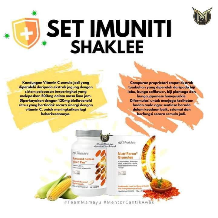Set Imuniti Shaklee