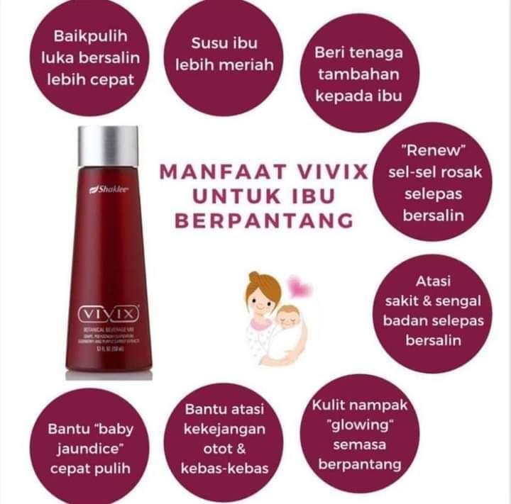 Manfaat Vivix Untuk Ibu Berpantang