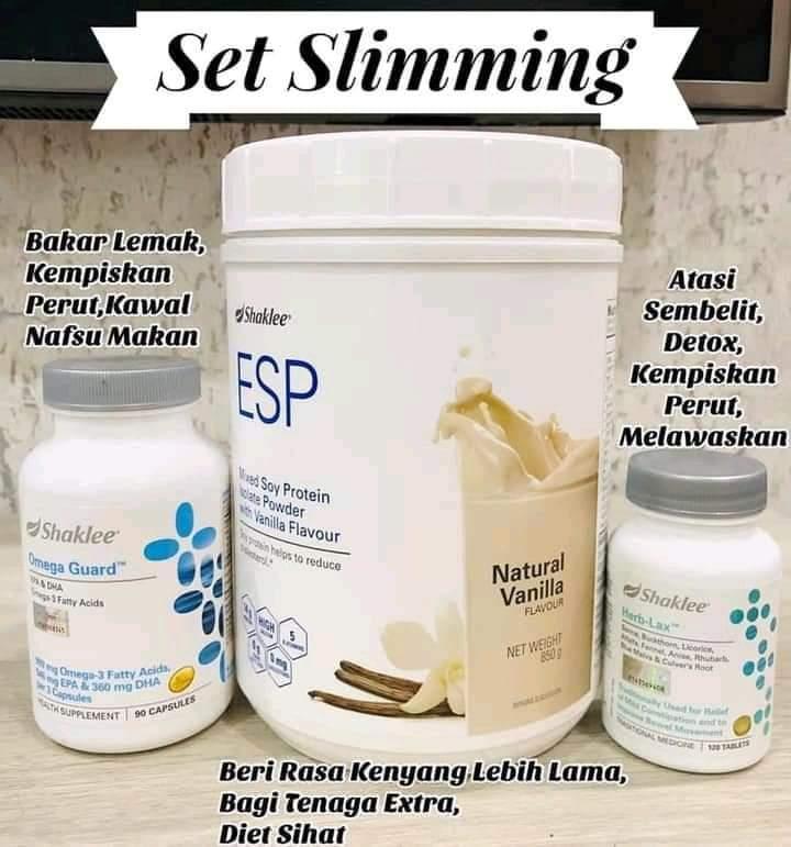 Set Slimming Shaklee Super Jimat