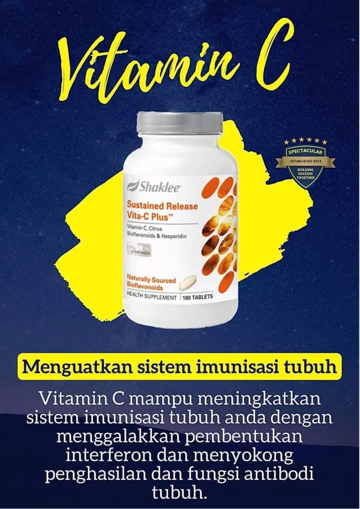 Kes Covid-19 Meningkat Tingkatkan Imunisasi Badan Dengan Vitamin C Shaklee