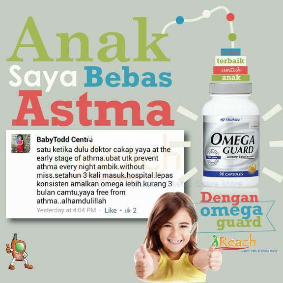 Bagaimanakah suplemen Omega-3 membantu penyakit asma?